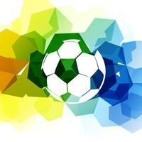fundo abstrato futebol vetor