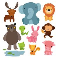 design de personagens de animais vetor