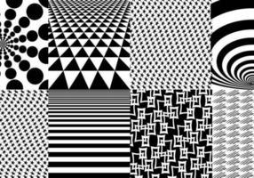 Pacote de vetores de padrão geométrico