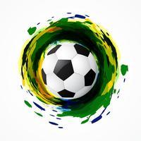 jogo de futebol sujo vetor