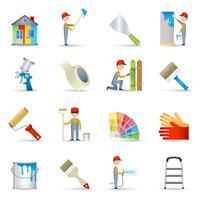 Pintor, ícones, apartamento, jogo