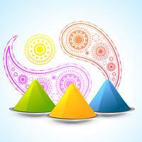 festival indiano de holi vetor
