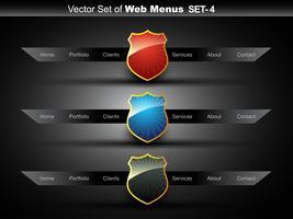 rótulo web vetor