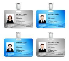 Conjunto de Cartões de Identificação
