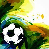 design de futebol de futebol vetor
