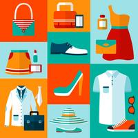Elementos de design de moda comercial