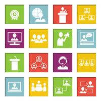 Conheça o conjunto de ícones on-line de pessoas