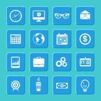 Conjunto de ícones de negócios