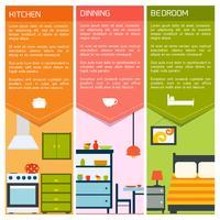 Banners interiores de casa