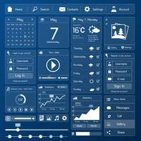 Modelo de interface de usuário simples