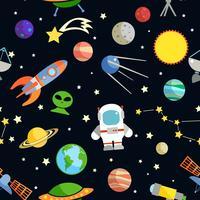 Padrão sem emenda do espaço