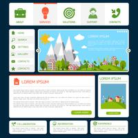 Modelo de site ecológico