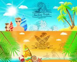 Banner de Surf Horizontal