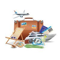 Turismo e conceito de viagem vetor