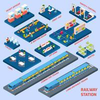 Conceito de estação ferroviária
