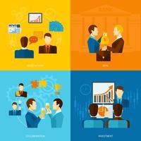 Conjunto plano de parceria