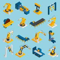 Máquinas de Robôs Isométricos