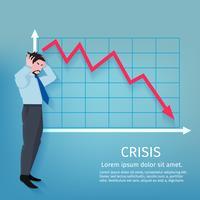 Cartaz de negócios de falha