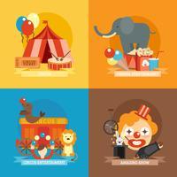 Conjunto plano de circo