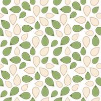 padrão sem emenda de semente de abóbora para papel de parede ou papel de embrulho vetor