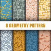 8 Definir padrão de geometria vetor