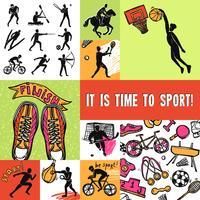 Conceito de design do esporte