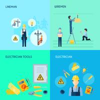 Conjunto de Eletricidade 2x2 Design