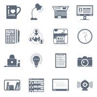 Conjunto de ícones freelance