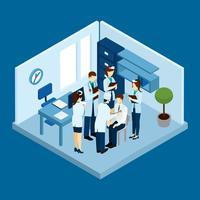 Conceito de pessoal de clínica