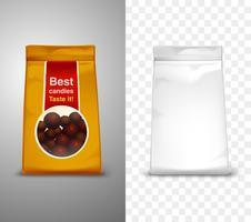 Ilustração de design de embalagem vetor