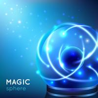 Ilustração de esfera mágica