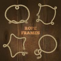 Conjunto de quadros de corda