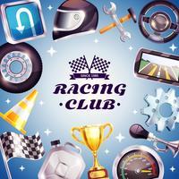 Quadro de corridas de clube