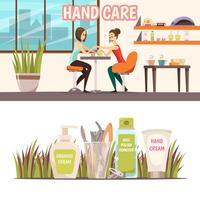 Conjunto de Banners de Manicure