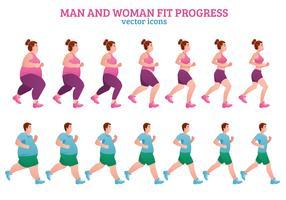 Composição de Estágios de Fitness vetor