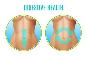 Design realista de saúde digestiva