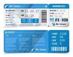 Composição do cartão de embarque