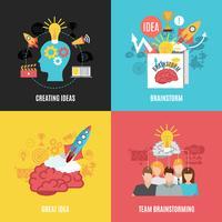 Conjunto de composições de brainstorm 2x2