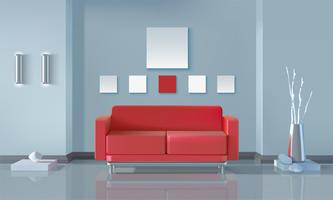 Design De Interiores Moderno vetor