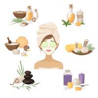 Elementos de beleza spa
