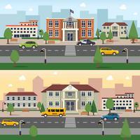 Banner de edifícios municipais