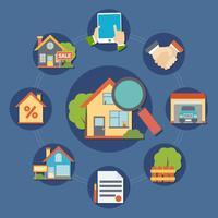 Composição Imobiliária vetor