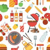 Festa para churrasco sem costura