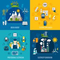 Composições planas da eletricidade