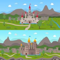 Composições antigas dos castelos medievais