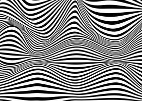 Ilusão de ótica abstrata vetor