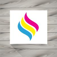 Mais novo logotipo vetor