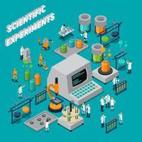 Composição isométrica de experimentos científicos