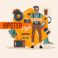 Pacote de Caracteres Masculino Hipster