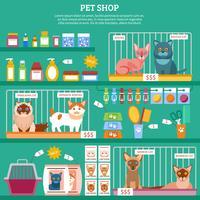 Ilustração do conceito de gatos vetor